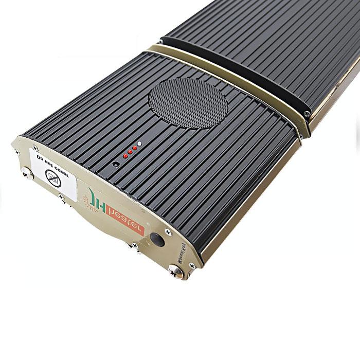 Riscaldatore a infrarossi con Altoparlanti Bluetooth incorporati